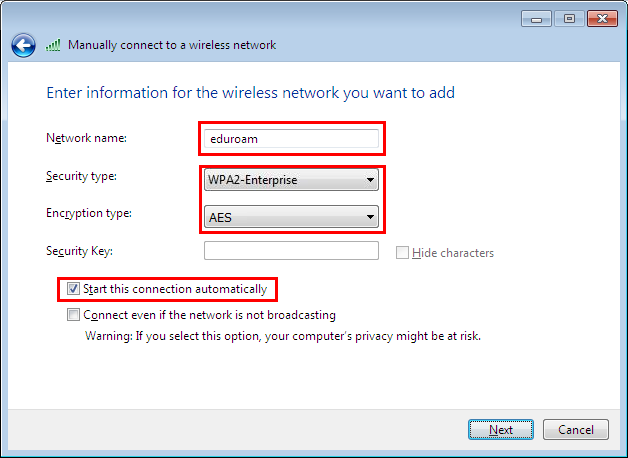 How to connect your computer with Windows 7 to the WiFi network Eduroam  First Faculty of Medicine